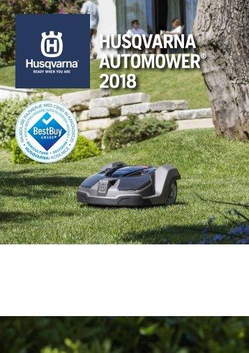 Reklamni letak Husqvarna Automower 2018