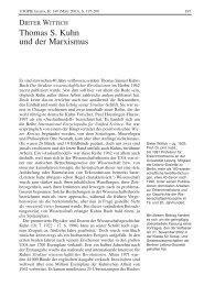 Thomas S. Kuhn und der Marxismus