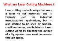 Laser Cutting Machines Manufacturer,Supplier & Exporter