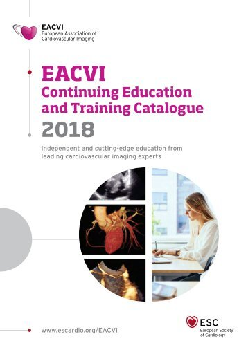 EACVI Continuing Education and Training Catalogue 2018