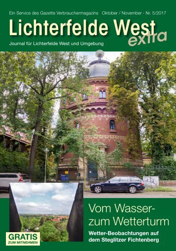 Lichterfelde West extra Nr. 5/2017