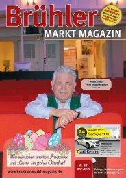Brühler Markt Magazin März 2018