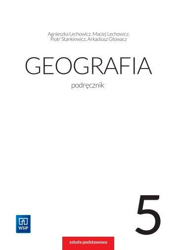GEOGRAFIA - klasa 5