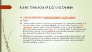 Basic Concepts of Lighting Design | Electrical Engineer | MEP Design |