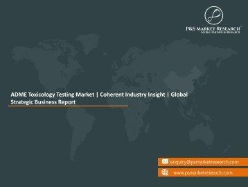 ADME Toxicology Testing Market