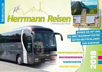 Herrmann Busreisen Reisekatalog 2018