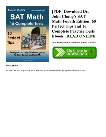 Gates macginitie reading tests gmrt fourth edition pdf download dr john chungs sat math fourth edition 60 perfect tips fandeluxe Image collections