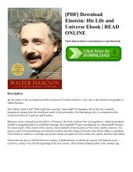 Life universe his einstein pdf and