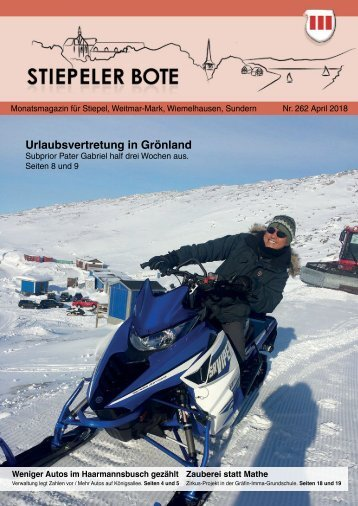 Stiepeler Bote 262 - April 2018