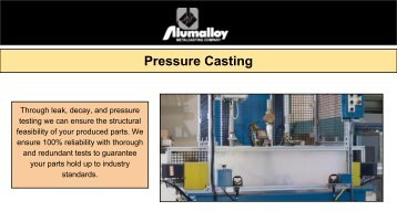 No Bake Sand Casting in Avon Lake | Alumalloy Metalcastings