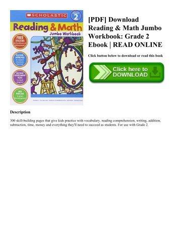 [PDF] Download Reading & Math Jumbo Workbook: Grade 2 Ebook   READ ONLINE