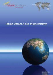 Indian Ocean: A Sea of Uncertainty - Future Directions International