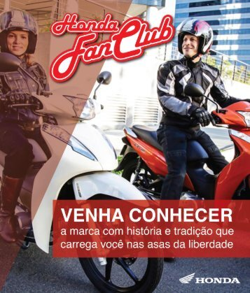 Revista_Fan club Honda