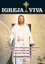 Revista Igreja Viva - Paróquia Nossa Senhora de Fátima - Edição Abril 2018