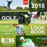 BOSS 2018 GOLF LOOK BOOK