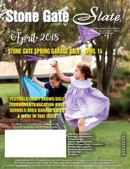 Stone Gate April 2018