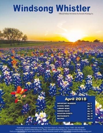 Windsong April 2018