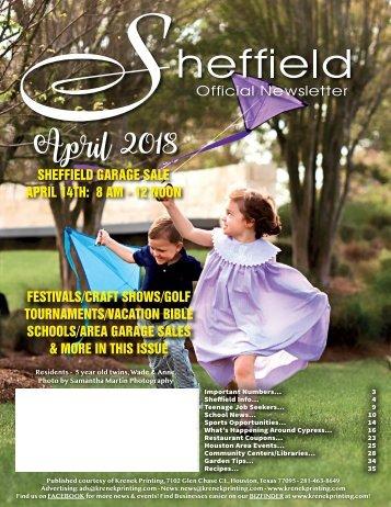 Sheffield April 2018