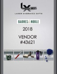 2018 LXG B&N Unpriced