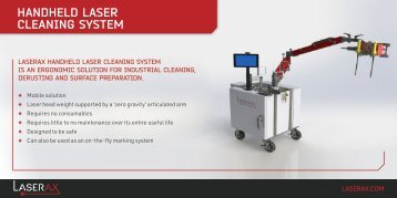 Laserax - Mobile Laser Cleaning System