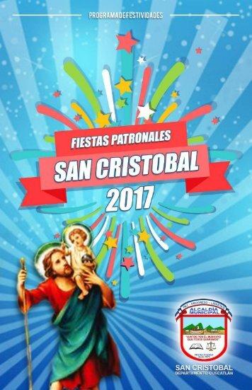 Revista Patronal San Cristobal 2018