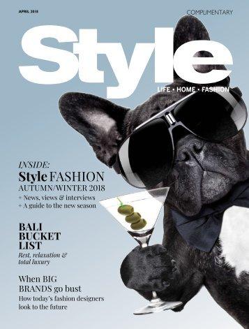 Style: April 06, 2018