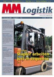 Pick-by-Voice - MM Logistik - Vogel Business Media GmbH & Co. KG