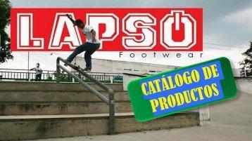 CATÁLOGO DE PRODUCTOS LAPSO