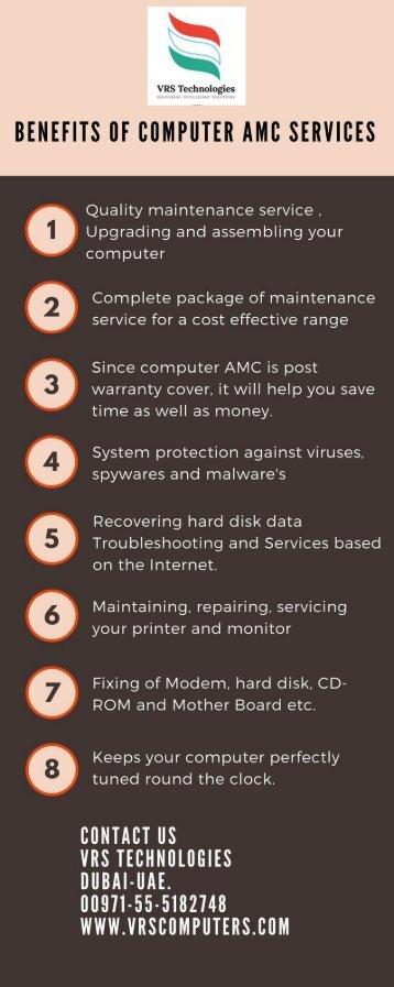 Benefits of computer amc services