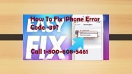 How To Fix iPhone Error Code -39 iTunes Error Call 1-800-608-5461