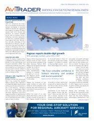 AviTrader Weekly News 2018-03-12