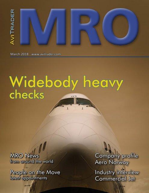 AviTrader MRO Magazine 2018-02