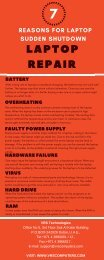 Laptop Repair - VRS technologies