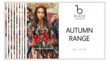 Black Cherry - Autumn Range April 2018