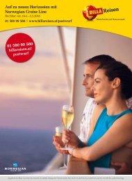 BILLA Reisen Kreuzfahrt-Angebote Postwurf KW14