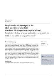 Roehrig S et al.  Respiratorisches Versagen (...) - Lungensonographie für Alle.....