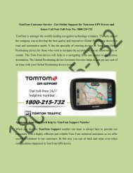 TomTom free map lifetime updates 1800-215-732 TomTom free lifetime maps