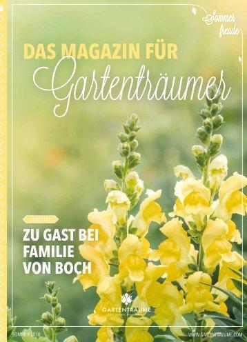 Das Magazin für Gartenträumer | 02/2018 | Hundisburg