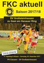 FKC Aktuell - 17. Spieltag - Saison 2017/2018
