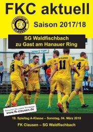 FKC Aktuell - 19. Spieltag - Saison 2017/2018