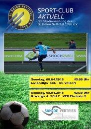 SPORT-CLUB AKTUELL - SAISON 17/18 - AUSGABE 13