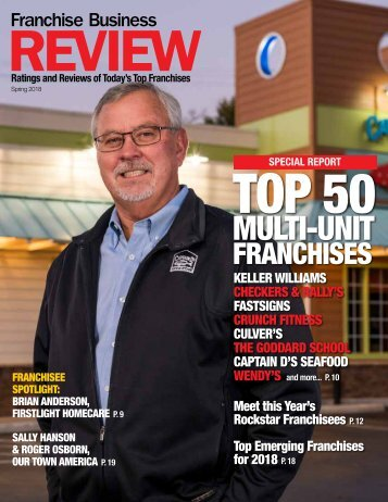 Franchise Business Review - Spring 2018