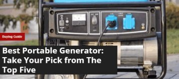 Best Portable Generators - Source Power Solutions