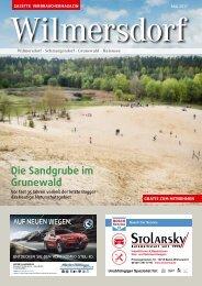 Gazette Wilmersdorf Mai 2017