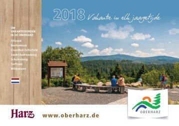Urlaubsmagazin Oberharz für die Niederlande