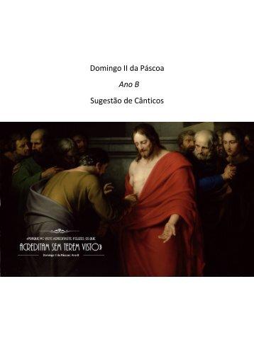 Domingo II da Pascoa - Ano B