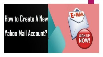 Call 1-800-213-3740 | Create a New Yahoo Mail Account