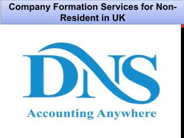 Company Formation Services for Non-Resident in UK