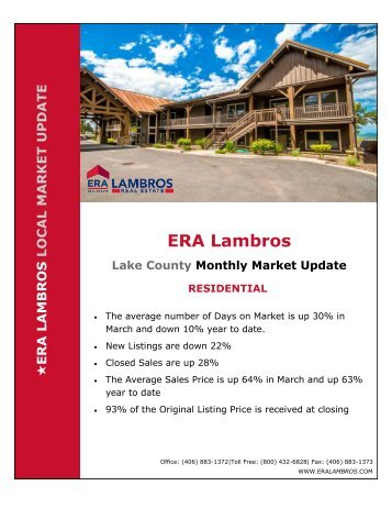 Lake County Residential Update - March 2018