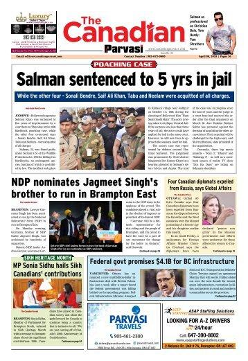 The Canadian Parvasi - Issue 40